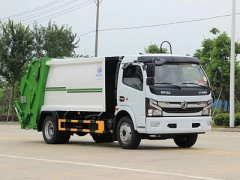 看过来!程力垃圾车的服务标准及发票的作用之国六东风6方压缩垃圾车图片
