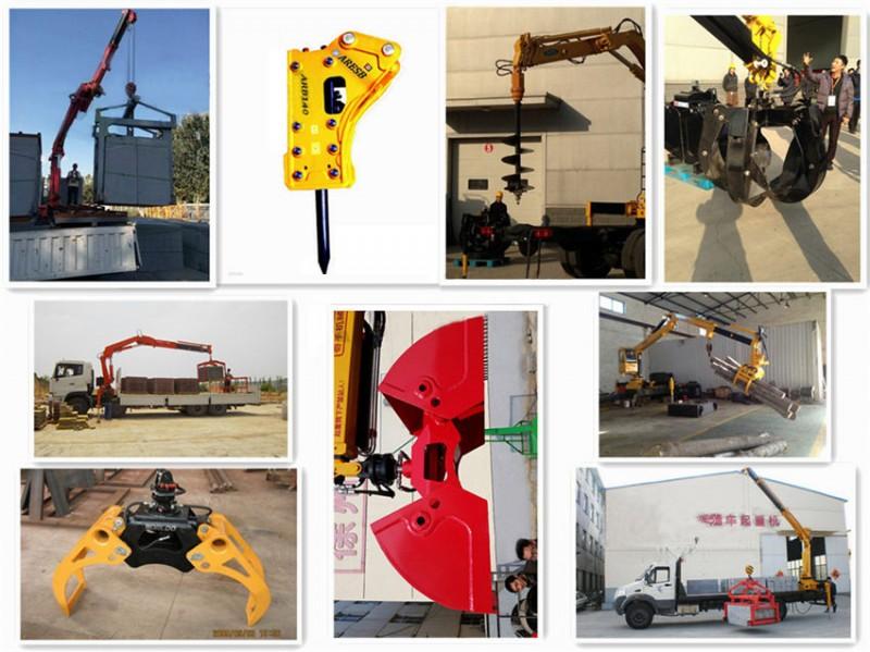 东风小三轴10吨折臂随车吊加装工具图